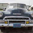 Stock Photo: 1952 Chevy DeLuxe Blue Front View