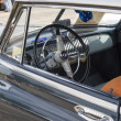 Stock Photo: 1952 Chevy DeLuxe Blue Interior