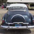 图库照片: 1952 Chevy DeLuxe Blue Rear View