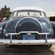 图库照片: 1952 Chevy DeLuxe Blue Back Close
