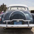 Stockfoto: 1952 Chevy DeLuxe Blue Back Close