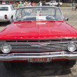 Stock Photo: 1961 Red Chevy Impala