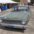 图库照片: 1964 Ford Falcon US Army Car Front View
