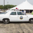 Постер, плакат: 1968 Ford Galaxie Milwaukee Police Car Side view