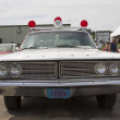Постер, плакат: 1968 Ford Galaxie Milwaukee Police Car Front View