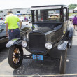 Stockfoto: Black Ford Model T Car