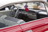 1961 Red Chevy Impala Interior — Stock Photo