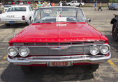 1961 Red Chevy Impala — Foto Stock