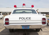 1968 Ford Galaxie Milwaukee Police Car Rear View — Stock Photo