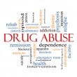 Drug Abuse Word Cloud Concept — Stock Photo #38307143