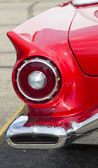 1957 Red Ford Thunderbird Tail Light — Stock Photo