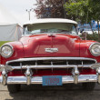 1954 Red Chevy Bel Air Front View — Stock Photo