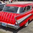 ������, ������: 1957 Red Chevy Nomad Side view