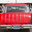 ������, ������: 1957 Red Chevy Nomad Rear View