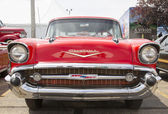 1957 Red Chevy Nomad Front View — Stock Photo