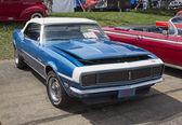 1968 Blue Chevy Camaro — Stock Photo