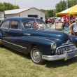 Постер, плакат: 1947 Black Buick Eight Car Side View