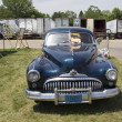 Постер, плакат: 1947 Black Buick Eight Car Front View