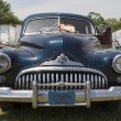 Постер, плакат: 1947 Black Buick Eight Car Close up