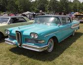 1958 Blue Edsel Citation — Foto Stock