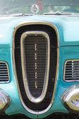 1958 Blue Edsel Citation Grill — Foto Stock