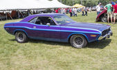 1970 Purple Dodge Challenger Side View — Stock Photo