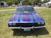 1970 Purple Dodge Challenger — Stock Photo