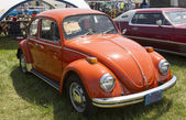 1971 Orange VW Beetle — Stockfoto