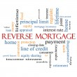 Foto Stock: Reverse Mortgage Word Cloud Concept