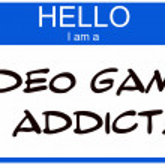 Hello I am a Video Game Addict — Stock Photo