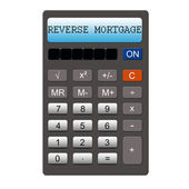 Reverse Mortgage Calculator — Stock Photo