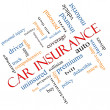 Car Insurance Word Cloud Concept Angled — Stock Photo #39211827