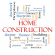 Home Construction Word Cloud Concept — Stock Photo #39353415