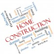 Home Construction Word Cloud Concept Angled — Stock Photo #39353449