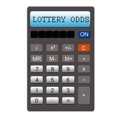Lottery Odds Calculator — Stock Photo