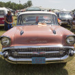 1957 Pink Chevy Bel Air Front View — Stock Photo