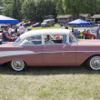 1957 Pink Chevy Bel Air Side View — Stock Photo