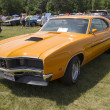 Постер, плакат: 1970 Orange Mercury Cyclone Spoiler