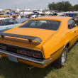Постер, плакат: 1970 Orange Mercury Cyclone Spoiler Side View