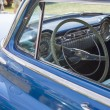 Stock Photo: Blue Oldsmobile Ninety Eight Interior