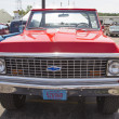 Stock Photo: Red Chevy K5 Blazer Front View
