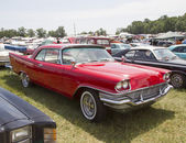 1957 Red Chrysler New Yorker — Stok fotoğraf