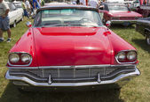 1957 Red Chrysler New Yorker Front View — Stock Photo