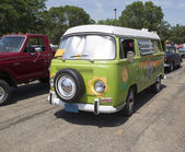1968 VW Hippie Camper Special Van — Foto de Stock
