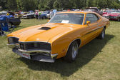 1970 Orange Mercury Cyclone Spoiler — Stock Photo