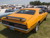 1970 Orange Mercury Cyclone Spoiler Side View — Stock Photo