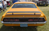1970 Orange Mercury Cyclone Spoiler Rear View — Stock Photo