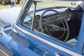 Blue Oldsmobile Ninety Eight Interior — Stock Photo