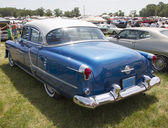 Blue Oldsmobile Ninety Eight Rear View — Stock Photo