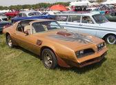 Pontiac Trans Am Copper Side View — Stock Photo